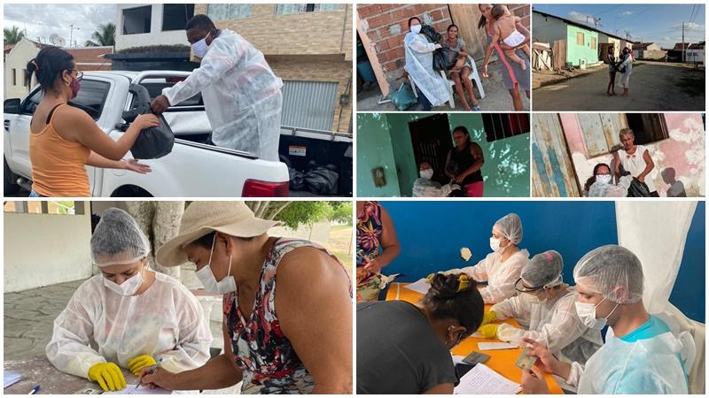 Ação Social dá continuidade a distribuição de alimentos do PAA às famílias carentes
