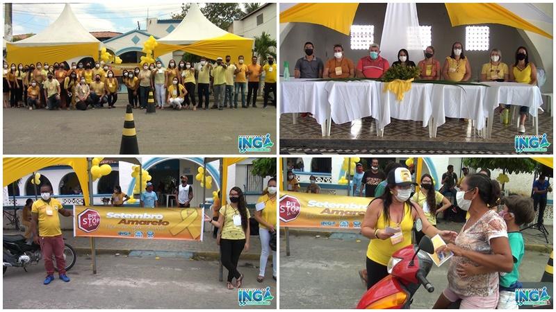Pit Stop do Setembro Amarelo, mês de conscientização e prevenção do suicídio. Você não está sozinho !!