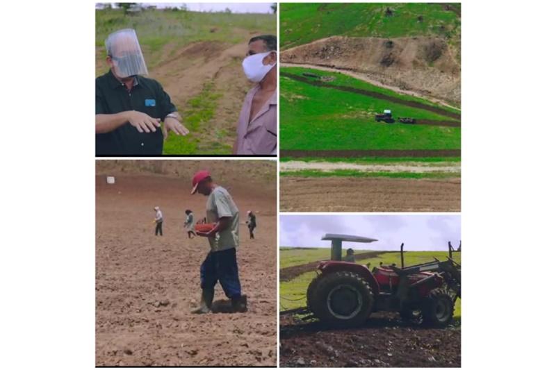 Prefeito Robério desenvolve ações de incentivo ao homem do campo e parcerias rentáveis na agricultura familiar