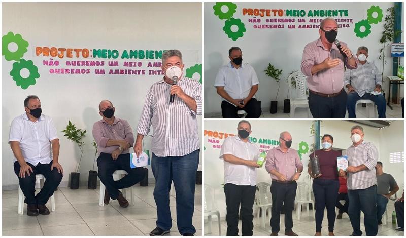 INGÁ: Secretário de Estado Jonildo Cavalcante participa da abertura da Semana da Consciência na Agricultura