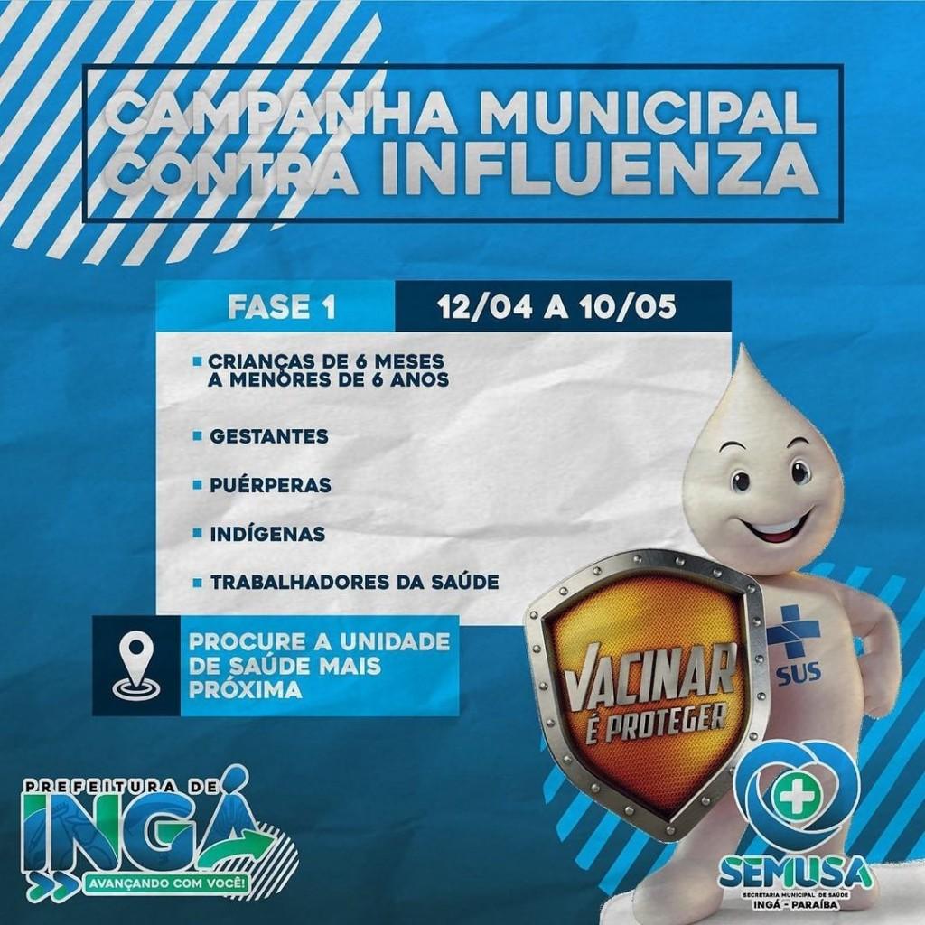Campanha Municipal de Vacinação Contra Influenza 2021